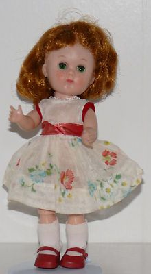 Ginny doll with freckles