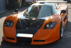 Teilfolierung Mosler 900 GTR