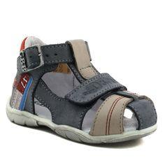 261A GBB PATIENT GRIS www.ouistiti.shoes le spécialiste internet  #chaussures #bébé, #enfant, #fille, #garcon, #junior et #femme collection printemps été 2017