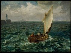 JEAN-FRANÇOIS MILLET, FISHING BOAT, 1871