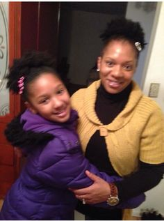 Mother Daughter Natural Hair Journey Awesome story on U~Niq's Blog Page www.imuniqaccessories.com