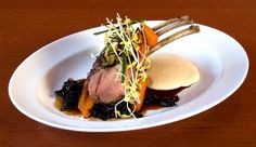 winter vegetables with lamb rack - Google Search