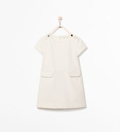 WEAVE DRESS WITH POCKETS from Zara