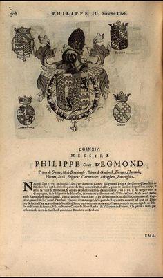 270. 1586; Philip William d'Egmont, Prince of Gavre (1558-1590).