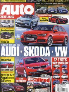 Die neue AUTO Zeitung am 15. Januar 2015