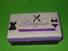 Shabby Amelia:scatola lingerie a  punto croce
