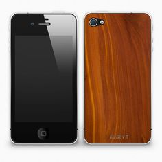KARVT sells real authentic wood iPhone skins starting at $15 bucks. I am going to need one soon!