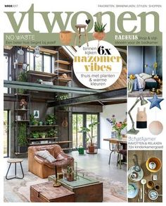 vtwonen editie 9-2017 Scandinavian Interior, Relax, Patio, Cover, Outdoor Decor, Furniture, Home Decor, Magazine Art, September