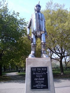 The Tin Man in Oz Park | © Ingrid Richter/Flickr