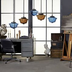 Schoolhaus Pendant by Niche Modern at Lumens.com