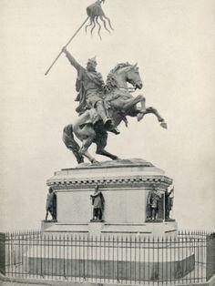 William the Conqueror | William I the Conqueror the Statue of William the Conqueror at Falaise ...