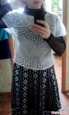 """Девочки, всем доброго дня!  Начинаем вязание этой кофточки.  Зовут меня Наташа, обращайтесь как вам удобно, на """"ты"""", на """"вы"""".  Опрос проходил здесь http://www.stranamam.ru/"""