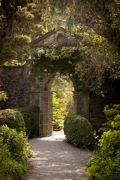 Walled Garden in Garinish Island, Glengarriff, Co. Cork Ireland