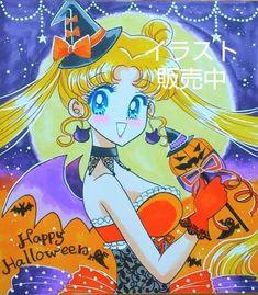 Sailor Moon Halloween, Princesa Serenity, Tuxedo Mask, Sailor Scouts, Manga, Artist, Anime, Fictional Characters, Princess