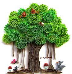 Creative quilling at its best! Don't know how to quill, but this would make me want to learn!