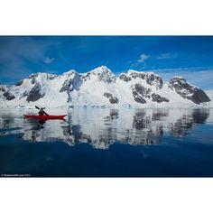 Sea Kayak Antarctica via Polyvore