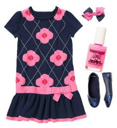 A Gymboree outfit with a Jazz It Up Piggy Paint polish to match!