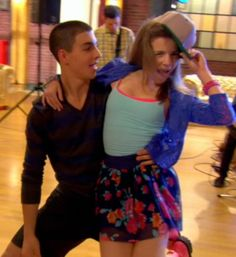 Look at the way he looks at her! Cool Dance, Best Dance, New Disney Channel Shows, Nickelodeon Cartoons, The Way He Looks, Dance Academy, O Reilly, The Next Step, Dance Moms