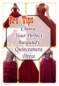 Have you been in the market for the perfect Burgundy Quinceanera dress for your big day? Do not miss out on these five guidelines for finding the best dress for your celebration. Burgundy Quinceanera Dresses, Nice Dresses, Formal Dresses, Our Girl, Big Day, Strapless Dress Formal, Fashion Show, Celebration, How To Memorize Things