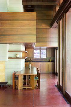 Frank Lloyd Wright · Bachman-Wilson House