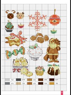Christmas theme cross stitch sampler.
