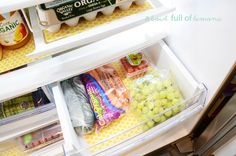 want yellow polka dot fridge coasters very badly.