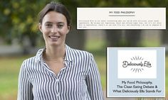 Deliciously Ella deletes 'clean eating' from her blog