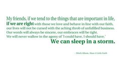 quote by mitch albom