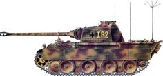 """We take a look at various camo schemes used by the German forces on their Panther tanks. 1st SS, 2nd SS, 3rd SS, 2nd, 3rd and 4th Panzer Divisions in this article. Images are property of """"Earl of Grey"""" and are reproduced here without any commercial use sought, just for use for fellow modelers. More… Read More"""