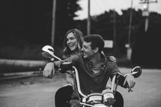EDEN INGLE PHOTO | motorcycle engagement photoshoot in Franklin, Tennessee / Nashville engagement photographer
