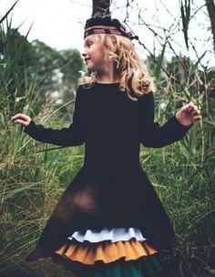 Swan Dress Maxi | Four'eMki | SHOWROOM Kids