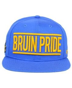 '47 Brand Ucla Bruins On Track Snapback Cap - Blue Adjustable
