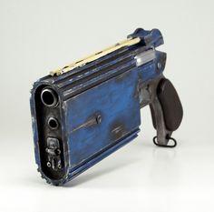 Mi réplica del blaster «Trandoshan doubler on a target pistol» de la película El Despertar de la Fuerza.
