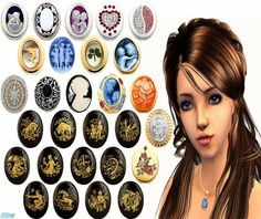 irene_busy's Necklaces 2 - Lockets