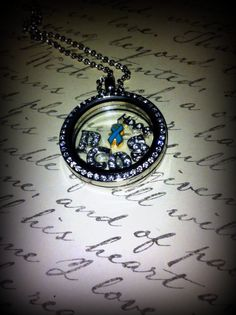 PCOS Awareness Locket by SugaBabiesDesigns on Etsy, $30.00