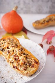 The Cook Time: Courge butternut farcie aux champignons, noisettes et parmesan