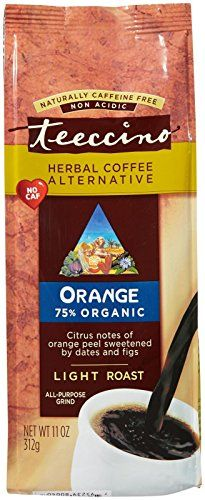 Teeccino Herbal Coffee Alternative Orange Light Roast  11 oz ** Check out the image by visiting the link.