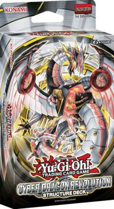 Yu Gi Oh! Cyber Dragon Revolution Structure Deck by PSI/Konami | 83717897842 | Item | Barnes & Noble®