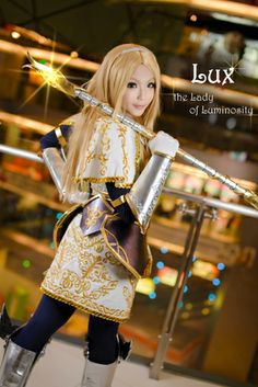 Lux from League of Legends