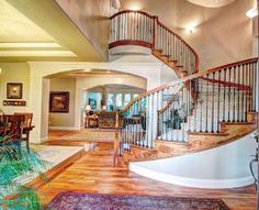 Nice double staircase