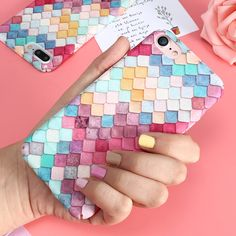 KISSCASE For Samsung S7 Edge Phone Cases 3D Scales Women Girly Case For Xiaomi mi5 Colorful Ultra Thin Cover For Huawei P9 Plus