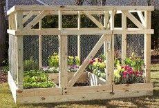 Build Your Own Garden Enclosure