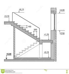 Stairs Architecture, Amazing Architecture, Architecture Details, Home Stairs Design, House Design, Escalier Art, Stair Plan, Building Stairs, Floating Stairs