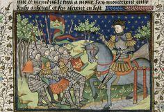 Alexander addressing his army