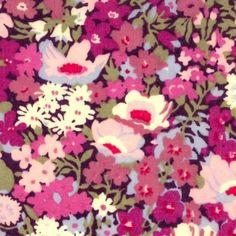 Liberty Fabric Thorpe Purple