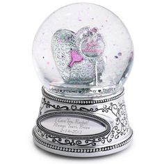 Key to My Heart Water Globe at Things Remembered