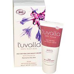 L'uvalla Certified Organic Regenerating Age-Defying Day Night Cream — 1.4 oz Review