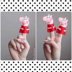 Peppa Pig finger puppet: