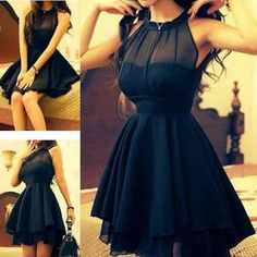 Popular Chiffon Simple Cheap Short Online School Graduation Homecoming Dress, WG704