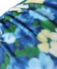 【【EMODA(エモダ)】フフルーツフラワー バンドゥビキニ 水着】フルーツフラワープリントのバンドゥビキニ。 インポートのような…